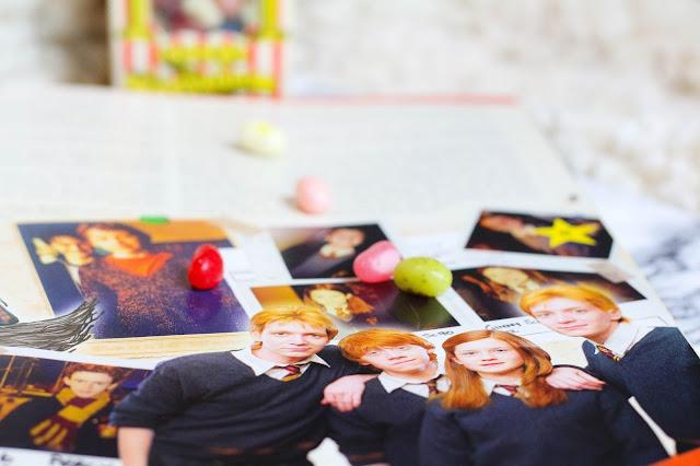 Famille Weasley Livre sur la magie des films harry potter