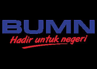 Logo BUMN Hadir untuk negeri Vector