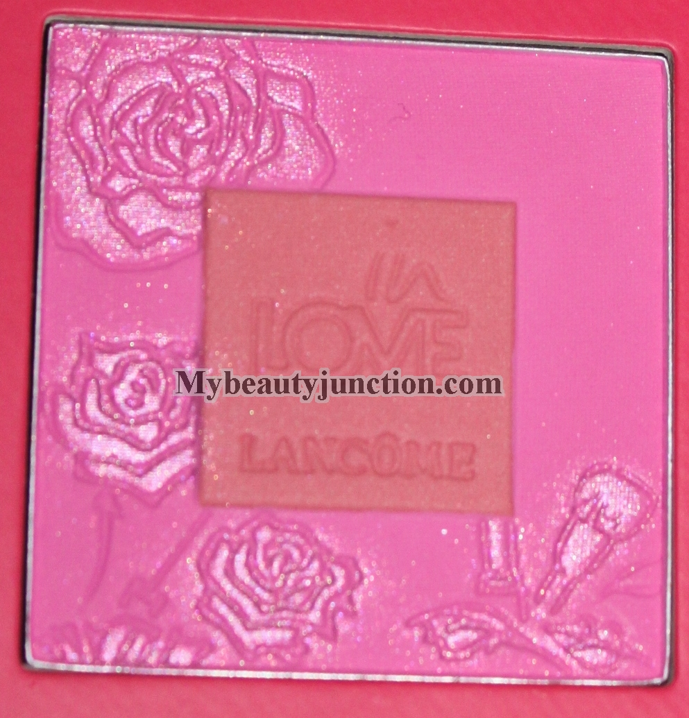 Lancome Blush In Love review, swatches, photos of both shades