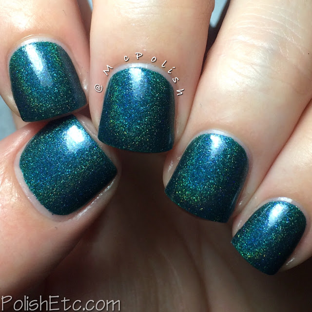 Doctor Lacquer - Chromahedron Collection - McPolish - Tsavorite