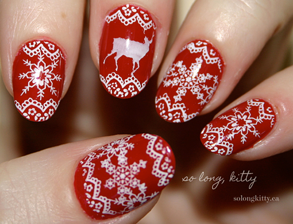 Mrs. of Mr.: 8 Christmas Themed Nail Designs