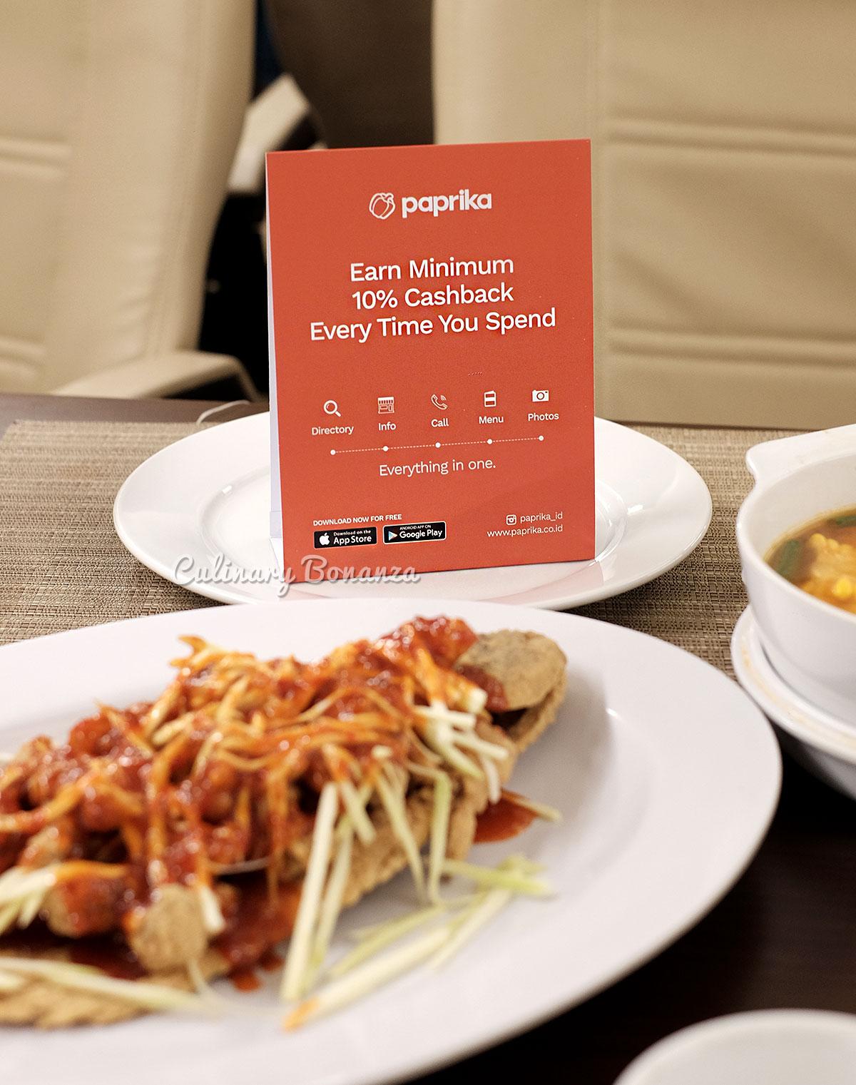 Paprika Cashback App (www.culinarybonanza.com)