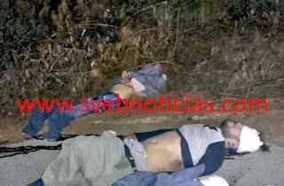 Tiran tres cuerpos ejecutados en Maltrata Veracruz