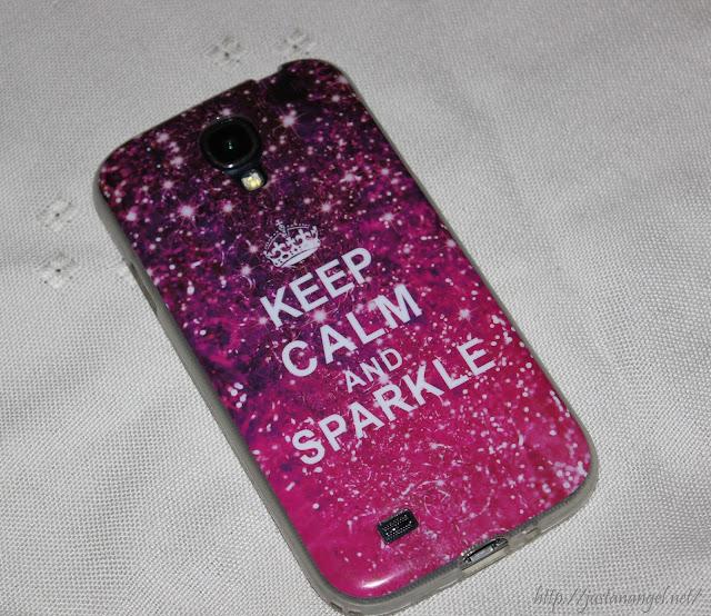 husa Samsung S4 Keep calm and sparkle