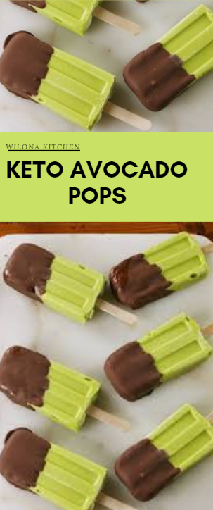 Keto Avocado Pops