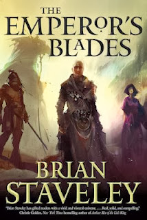 Guest Blog by Brian Staveley, author of The Emperor's Blades - February 10, 2014