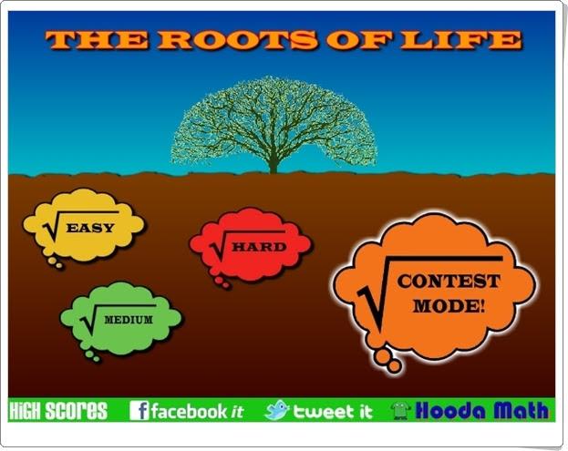 """""""Las raíces de la vida"""" (Juego de Raíces Cuadradas)"""