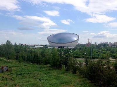 talerz ufo Astana