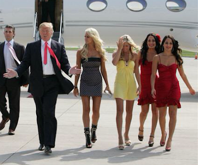 Image result for trump & Hooters