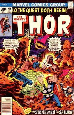 Thor #255, the Stone Men From Saturn