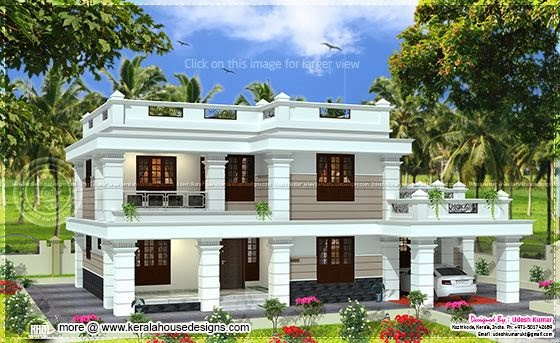 2567 sq-ft house design