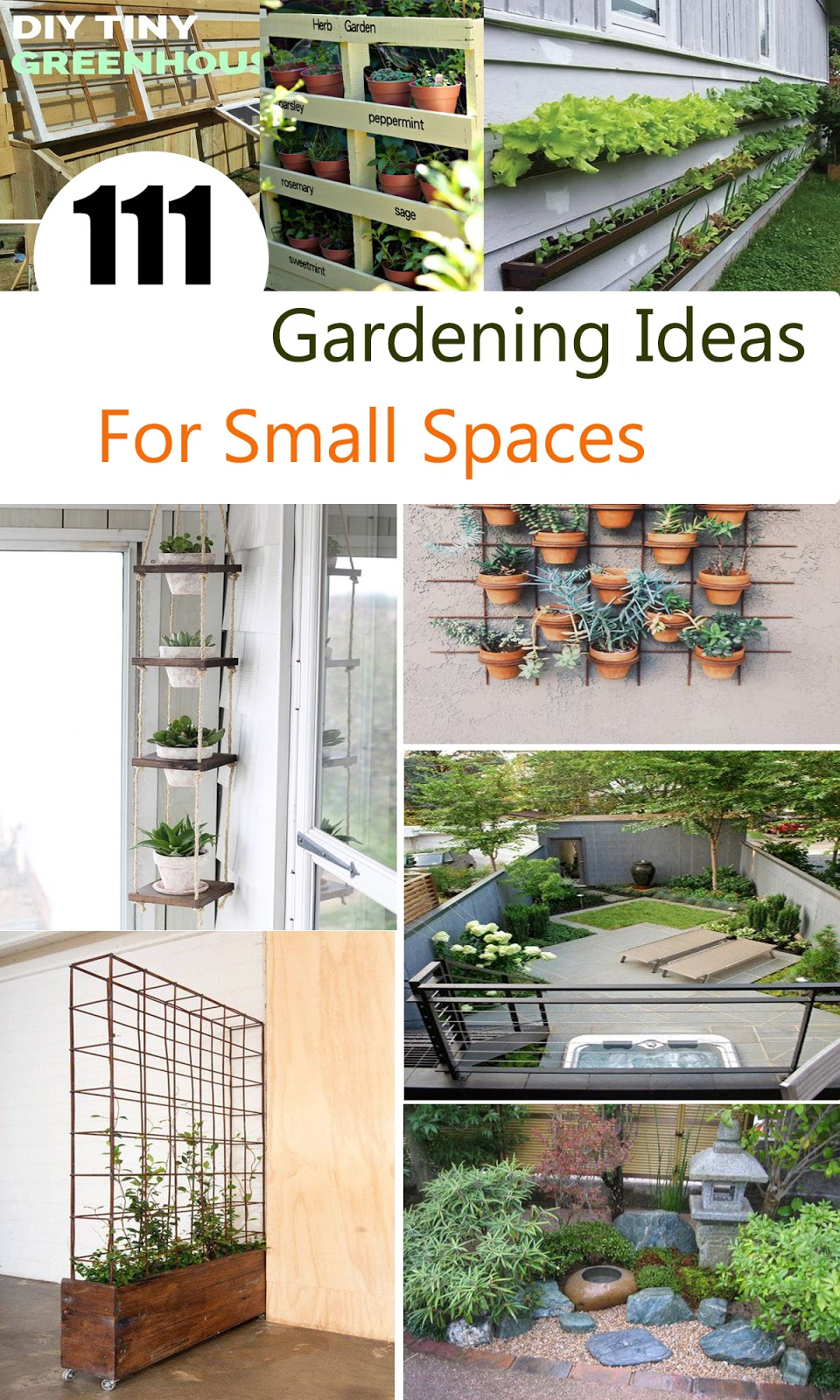 111 Gardening Ideas For Small Spaces A Blog On Garden