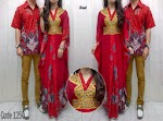 Gamis Couple Red OVJ 1250 HABIS
