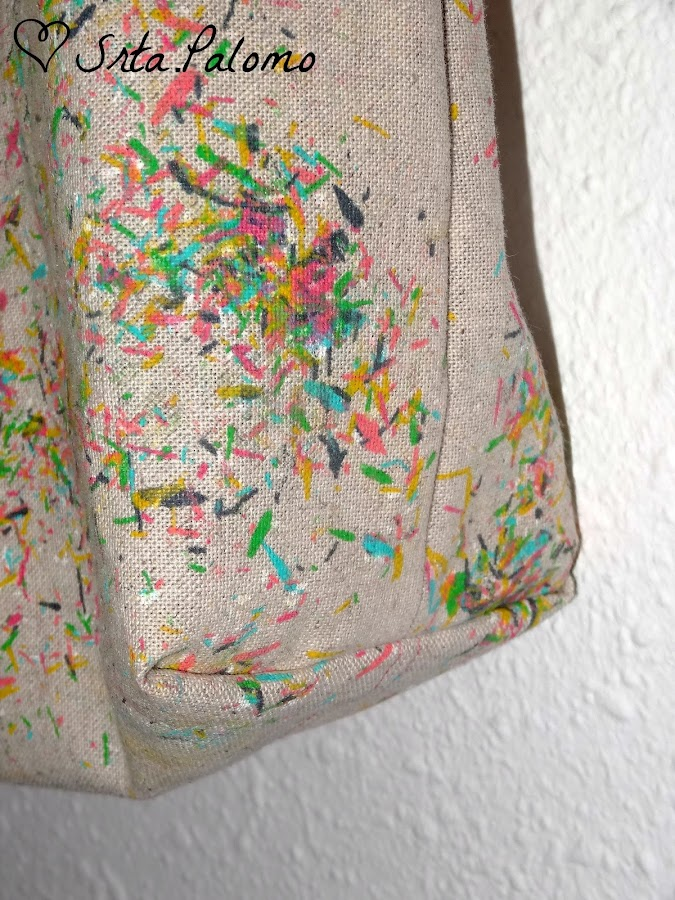 tutorial tote bag pintado a mano