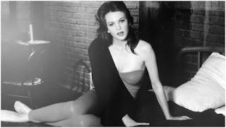 Diane Lane durante el rodaje de Calles de fuego