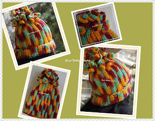 spiral beanie, ladies headwear, girls beanie