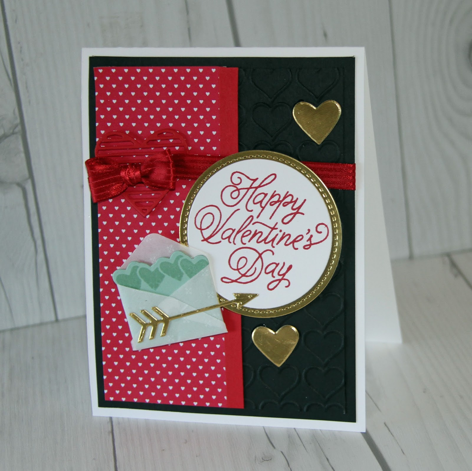 the - Stampin Up Valentine Cards