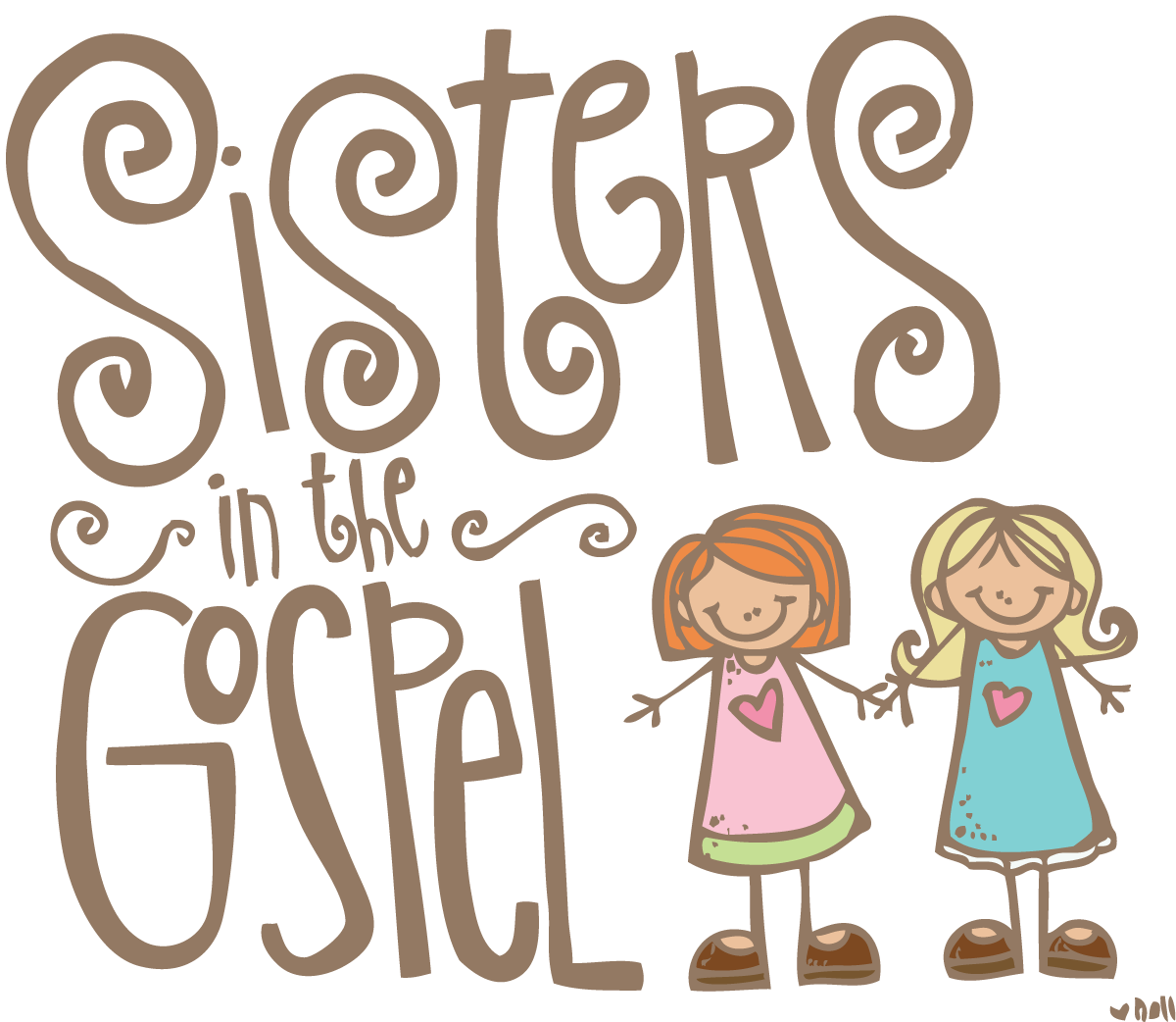 clipart of sisters - photo #28