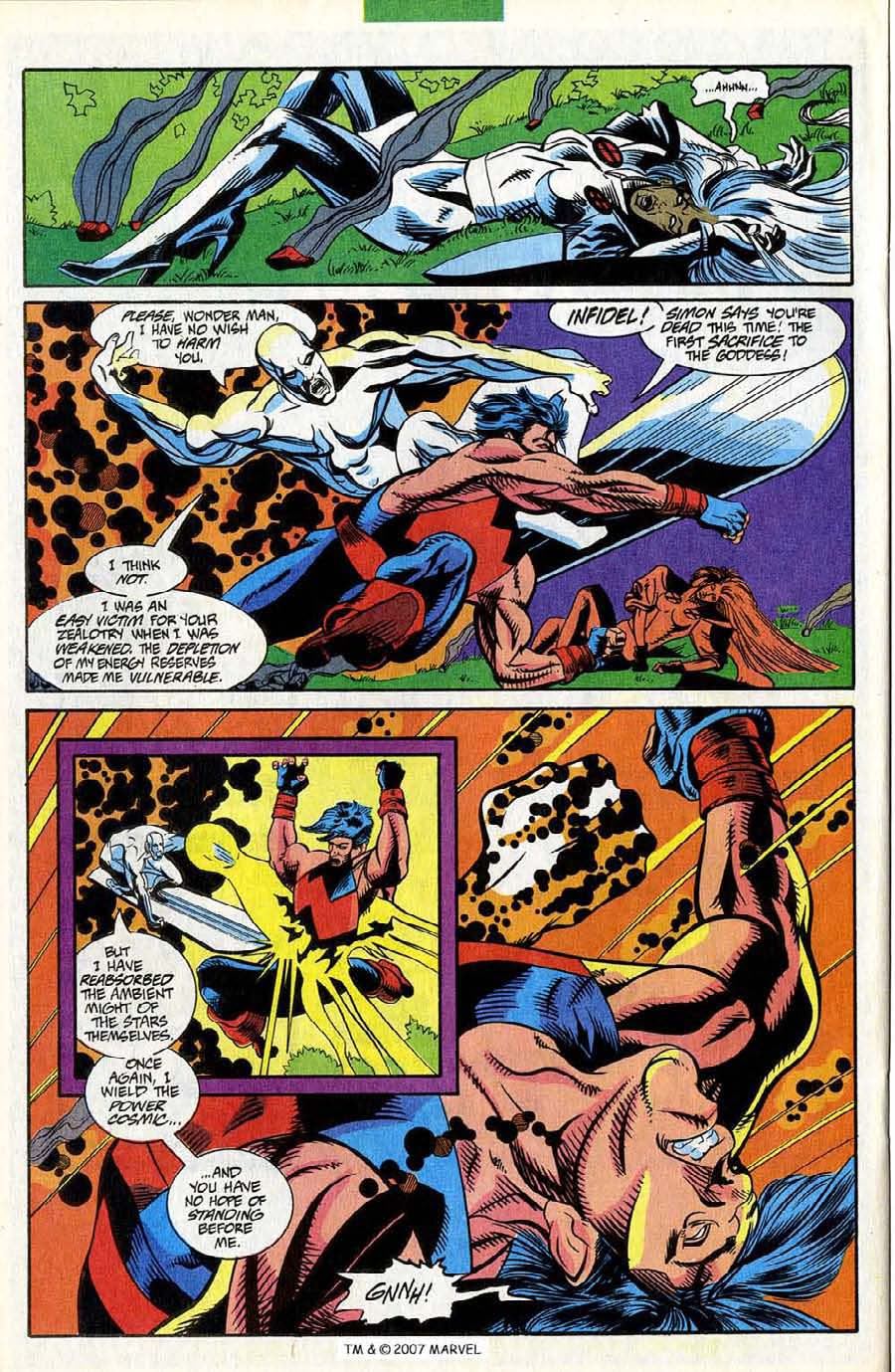 Read online Silver Surfer (1987) comic -  Issue #85 - 24