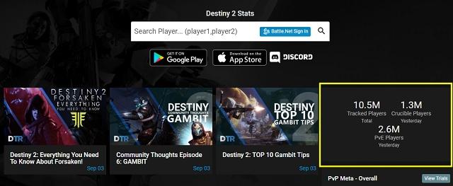 天命2》Destiny 2 大作重返榮耀,遊戲玩家數量快速上升已突破