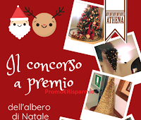 Logo Sweet Athena ''Posta il tuo albero di Natale'' e vinci 100 cialde