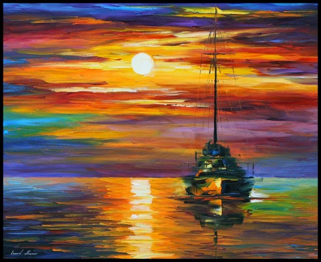 Lovely Sunset And Sunrise Paintings To Inspire You