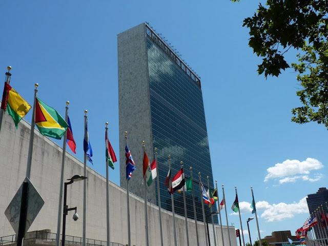Sede das Nações Unidas em Nova York