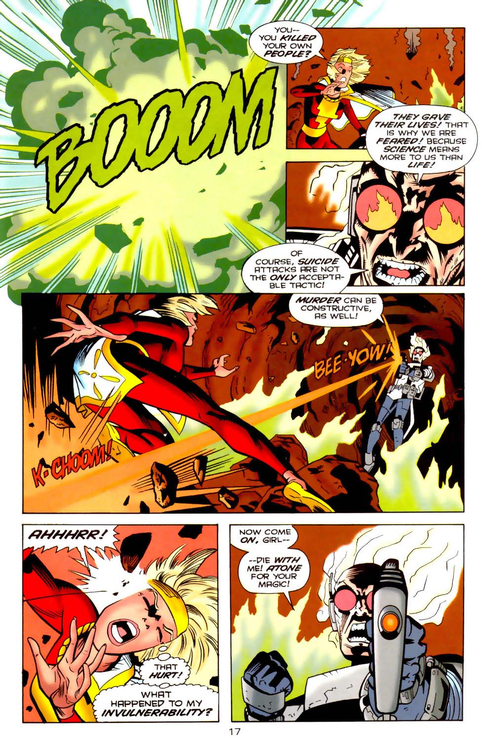 Legion of Super-Heroes (1989) 110 Page 17
