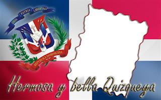 Marco para crear fotomontajes de la República Dominicana