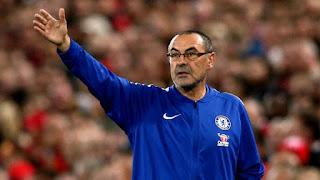 Sarri eager for Chelsea trophy but dismisses Europa League favourites tag