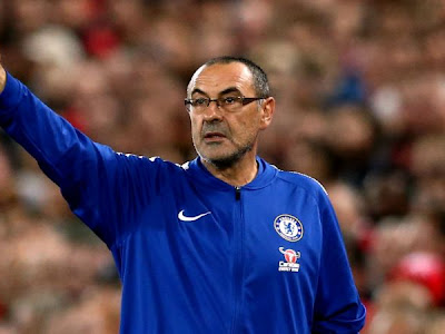 Sarri eager for Chelsea trophy but dismisses Europa League favourites tag