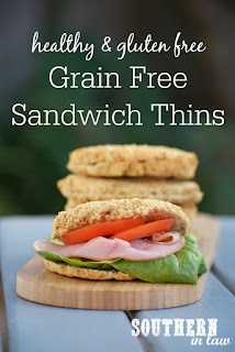 Low Carb Grain Free Sandwich Thins Copycat Recipe
