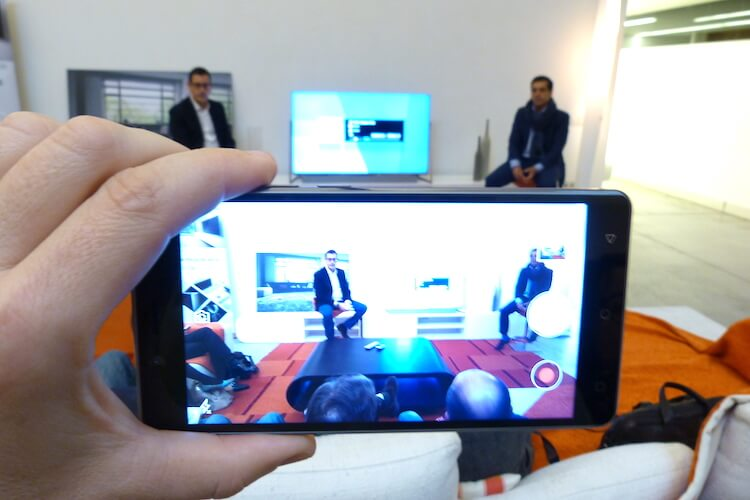 Televisor DX800 Panasonic evento presentación Madrid diciembre 2016
