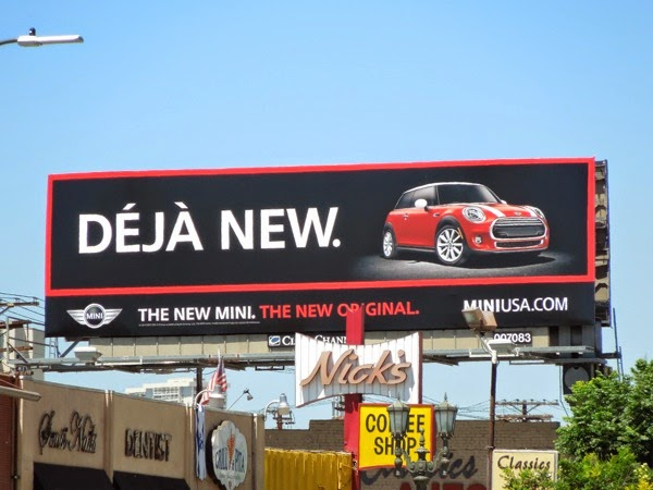 Deja New MINI billboard