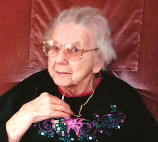 Leona Bagley Goodfellow Bent, 92 years old.