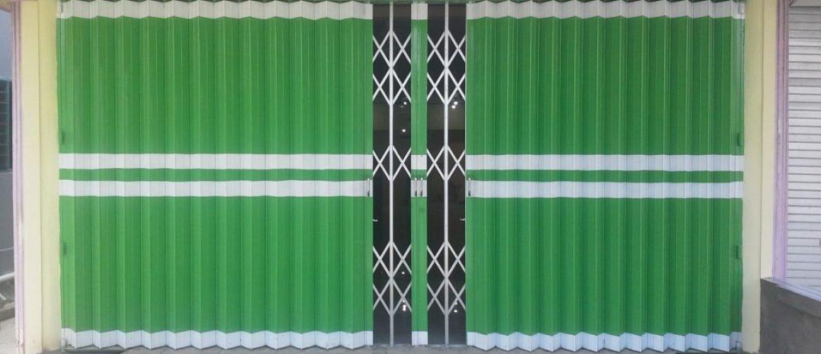 spesialis fabrikasi pintu harmonika Jakarta Pusat