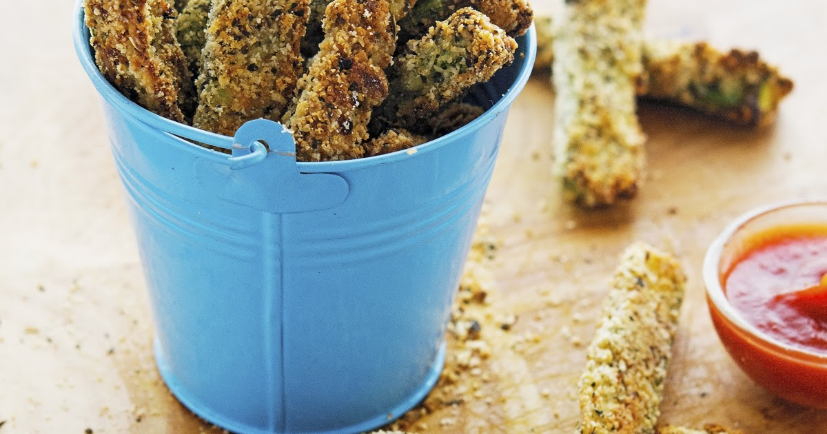 The Iron You: Parmesan Crusted Baked Zucchini Fries