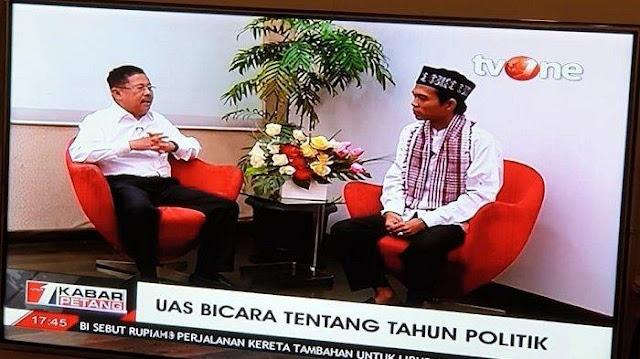 Tonton Wawancara Khusus Karni Ilyas dengan Ustaz Abdul Somad soal Reuni 212