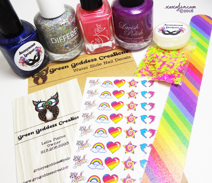xoxoJen's Awesome Sauce Box review: Lisa Frank