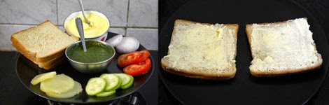 how to make vegetable sandwich toast