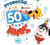 Cadastrar Promoção Kinder 2018 50 Anos Aniversário Viagens Família Kits