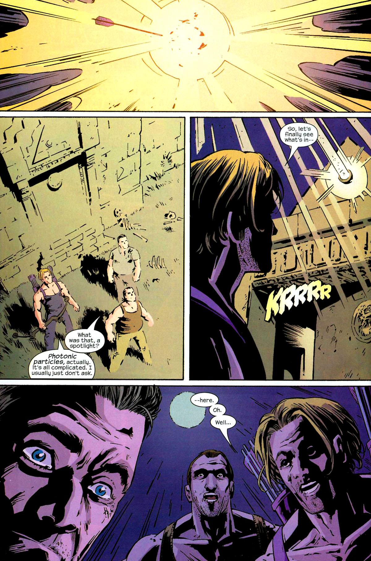 Hawkeye (2003) Issue #5 #5 - English 22