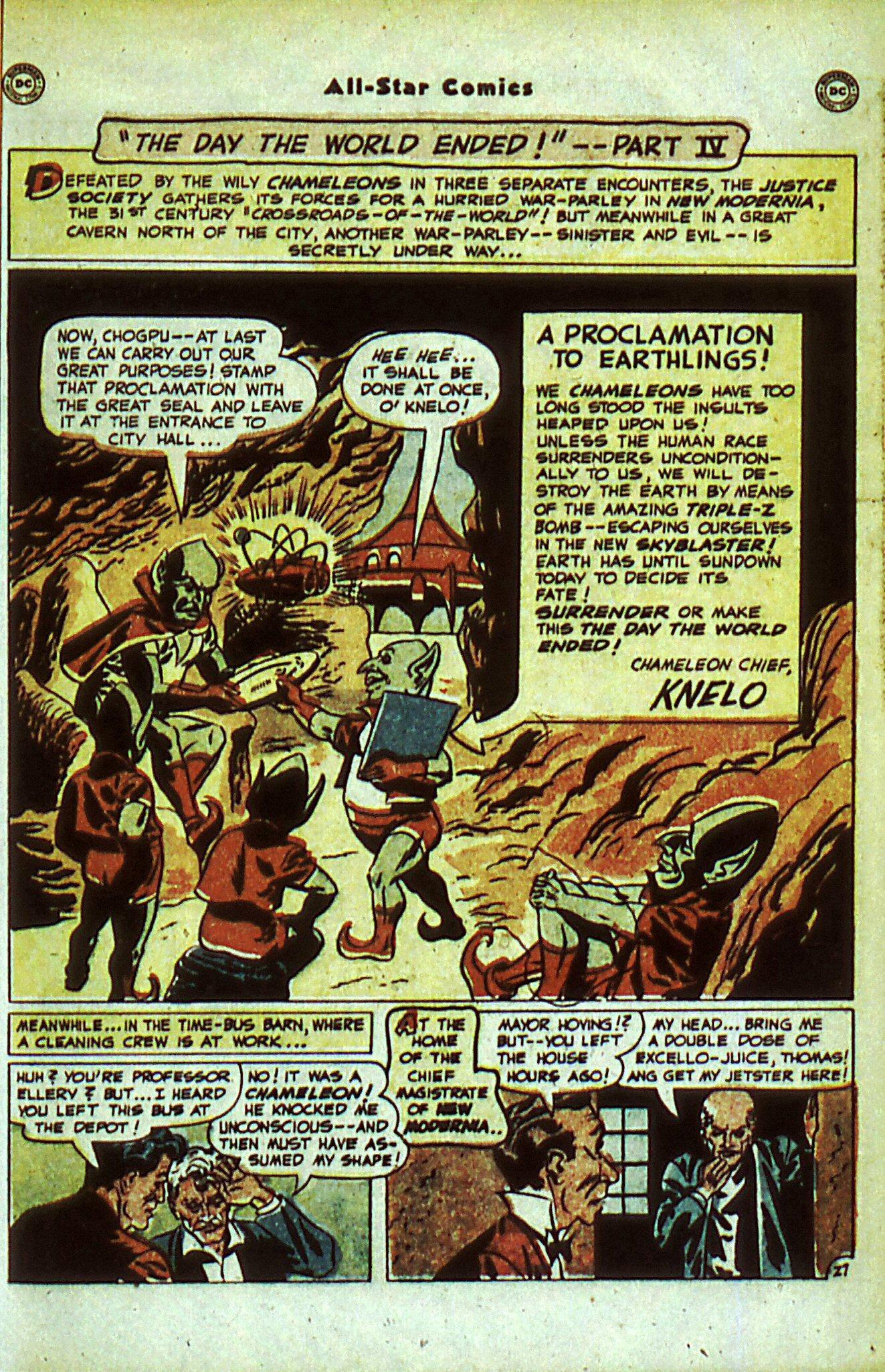Read online All-Star Comics comic -  Issue #56 - 35