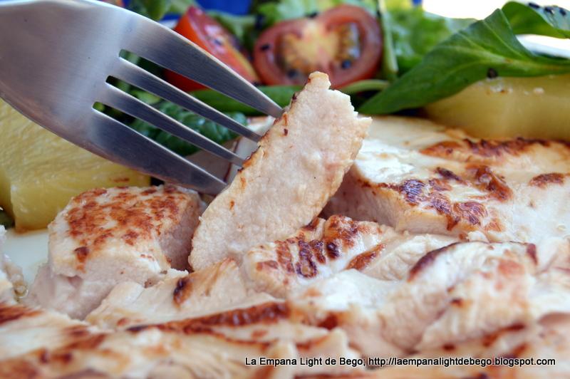 recetas con pechuga de pollo light