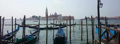La Isla de San Giorgio Maggiore desde San Marco.