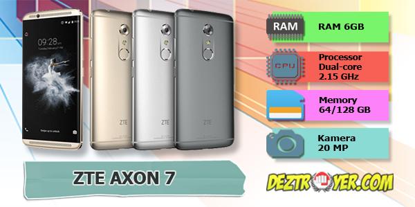 spesifikasi: ZTE axon 7