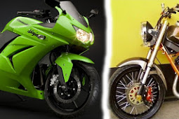 Yamaha RX King Cobra vs Ninja 250