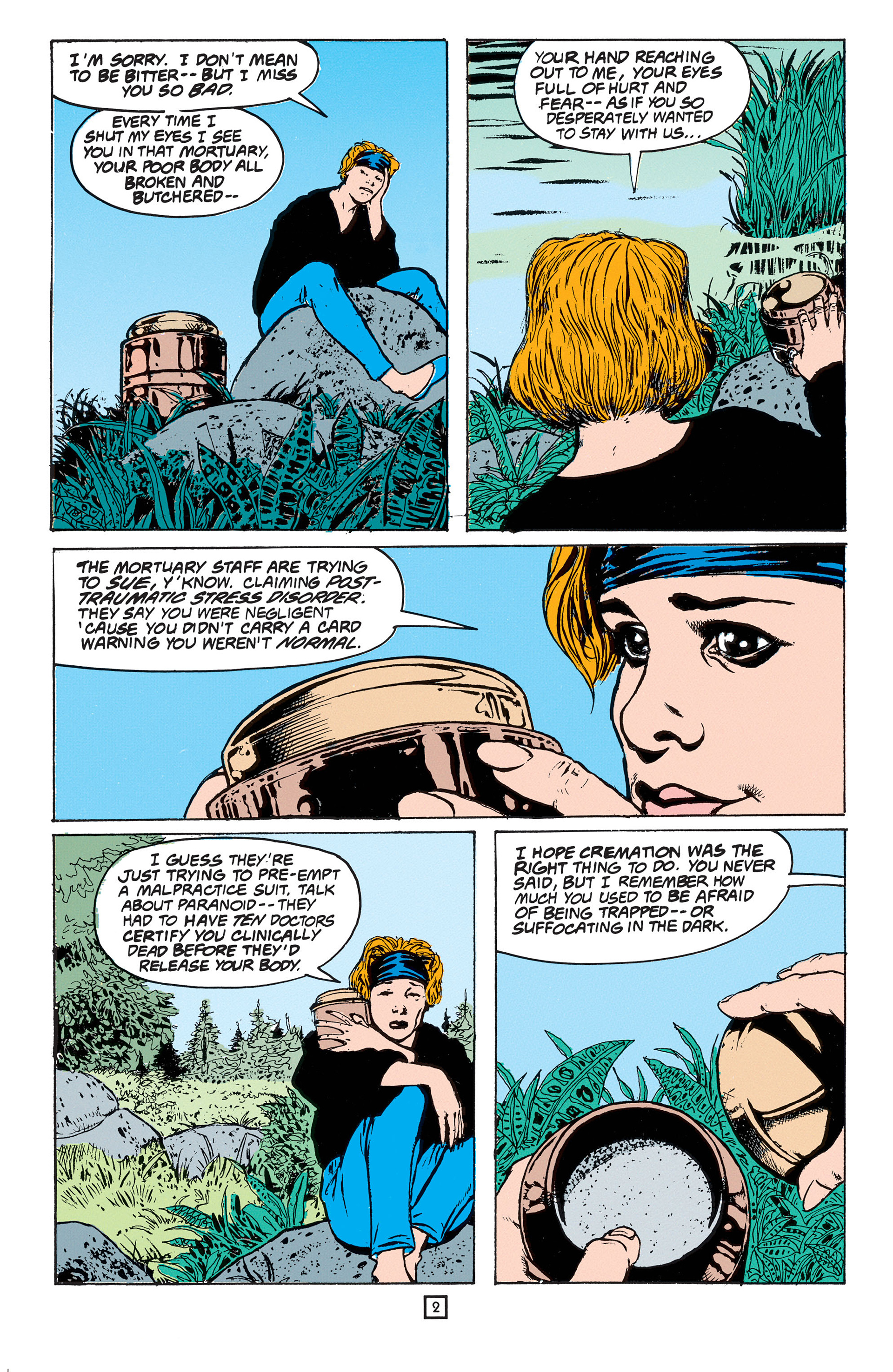 Read online Animal Man (1988) comic -  Issue #53 - 3