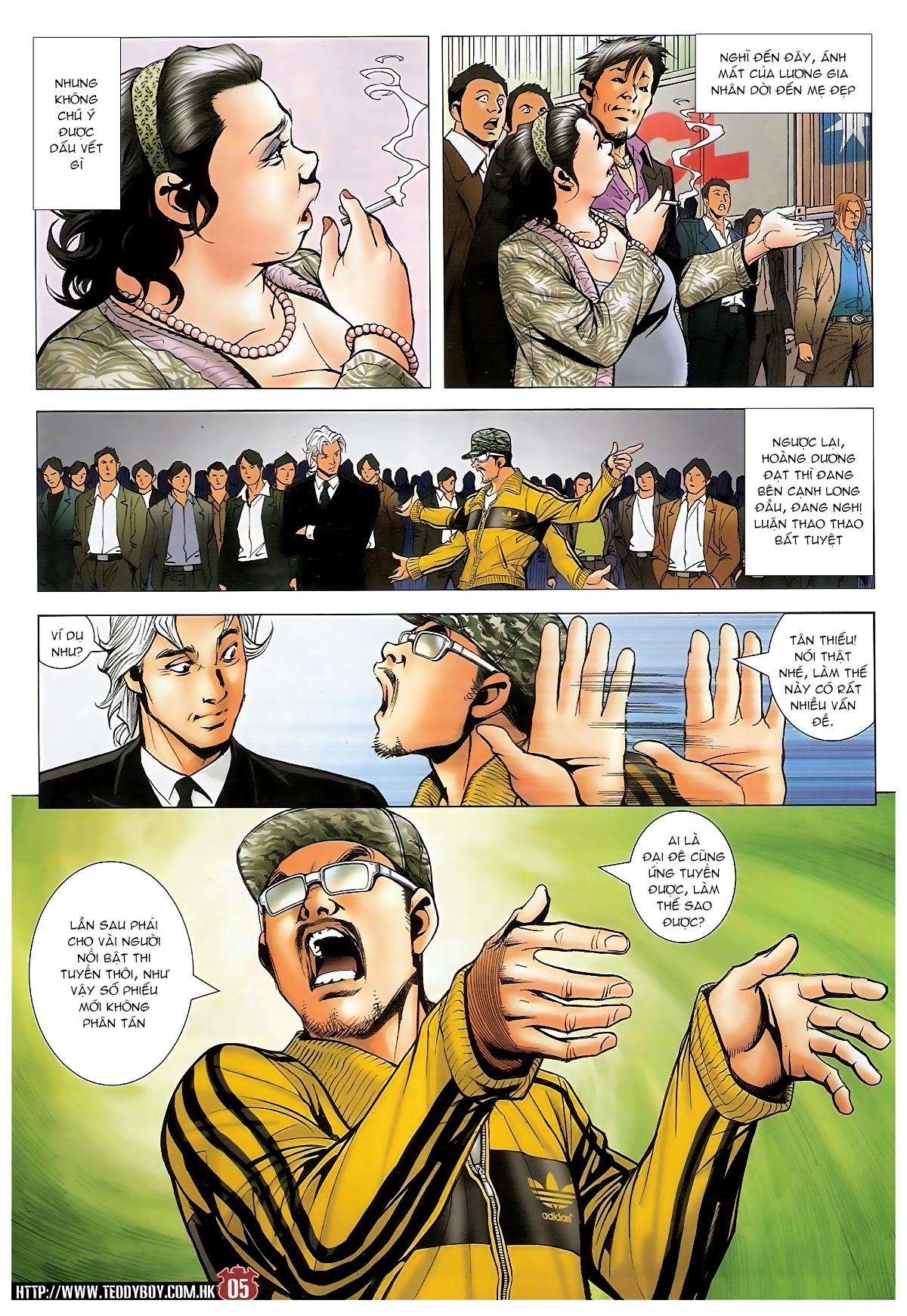 Người Trong Giang Hồ - Chapter 1495: Thiên lý truy hung - Pic 4