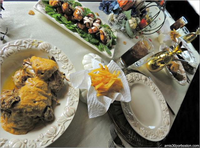 Menú de mi Cena de Acción de Gracias 2017